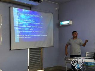 Treinamento em segurança e manuseio com NH3(amônia) - Capanema/PR